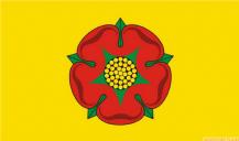 LANCASHIRE (NEW / YELLOW) - 8 X 5 FLAG